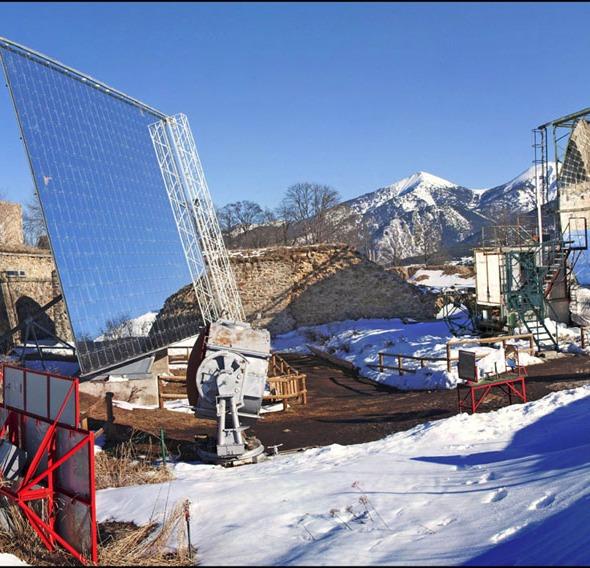 four solaire Mont Louis Pyrénées