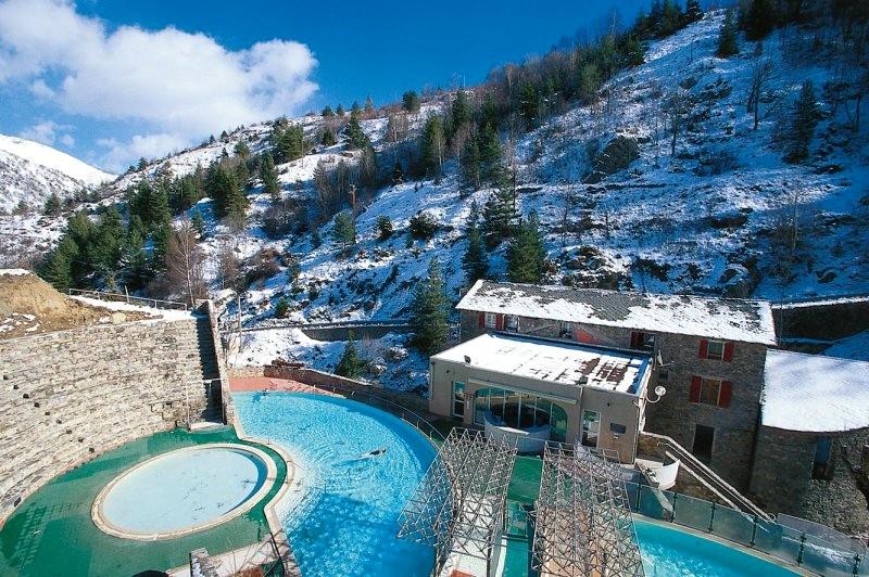 Bains chauds naturels dans les Pyrénées Orientales