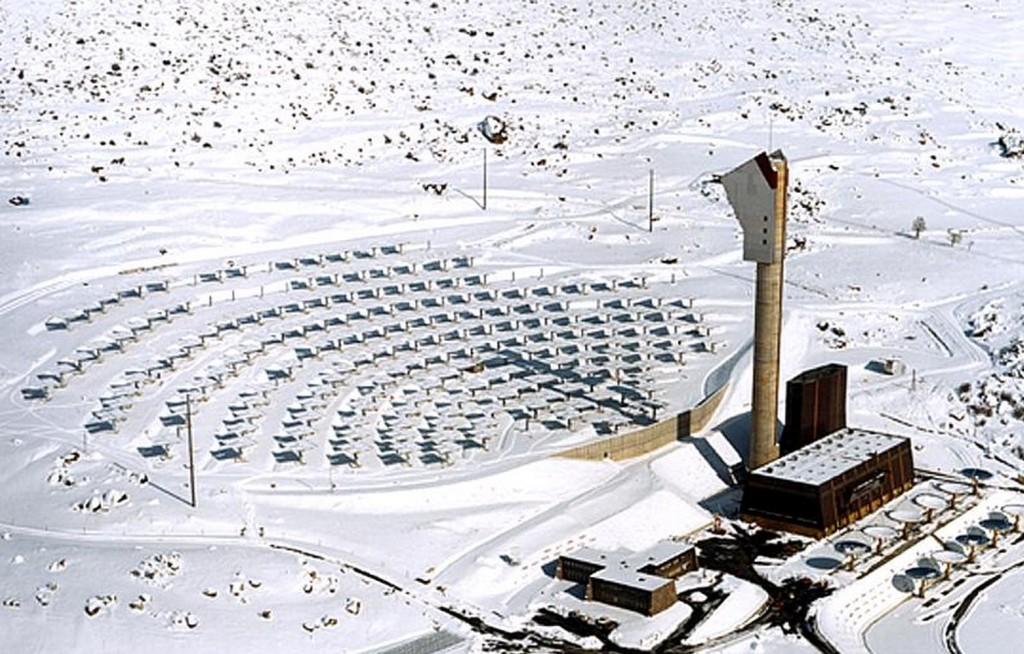 Solar plant Thémis - FRANCE