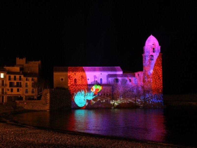 collioure-projection mapping