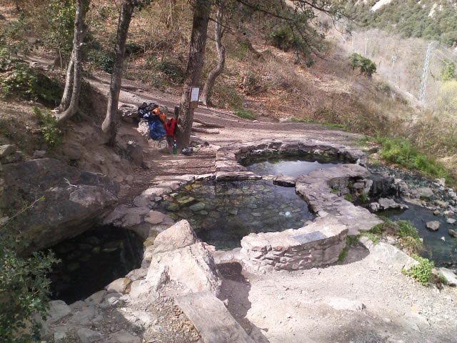bain chaud naturel sauvage pyrenees