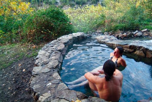 bains chaud naturels
