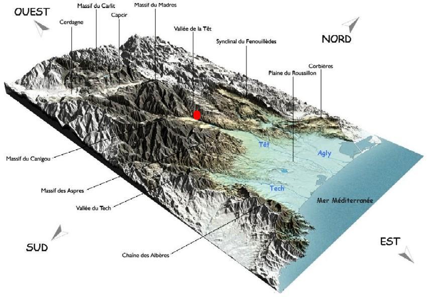 Pyrénées orientales 3D