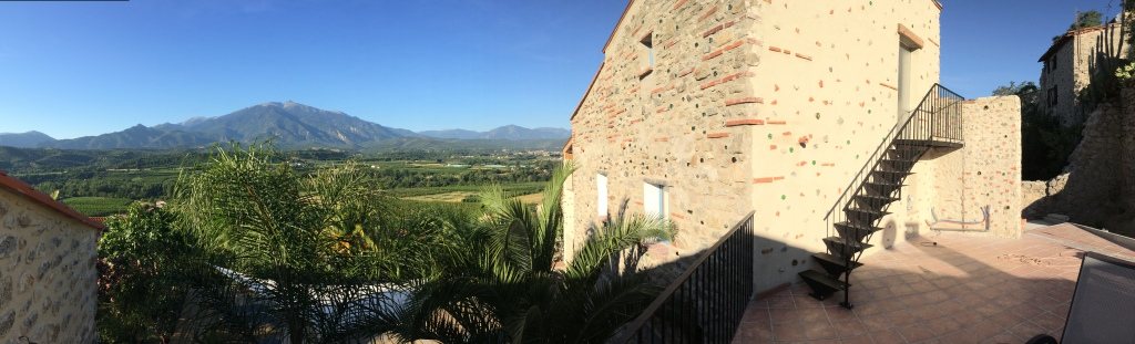 terrasse de la casa ilicia - village d'Eus