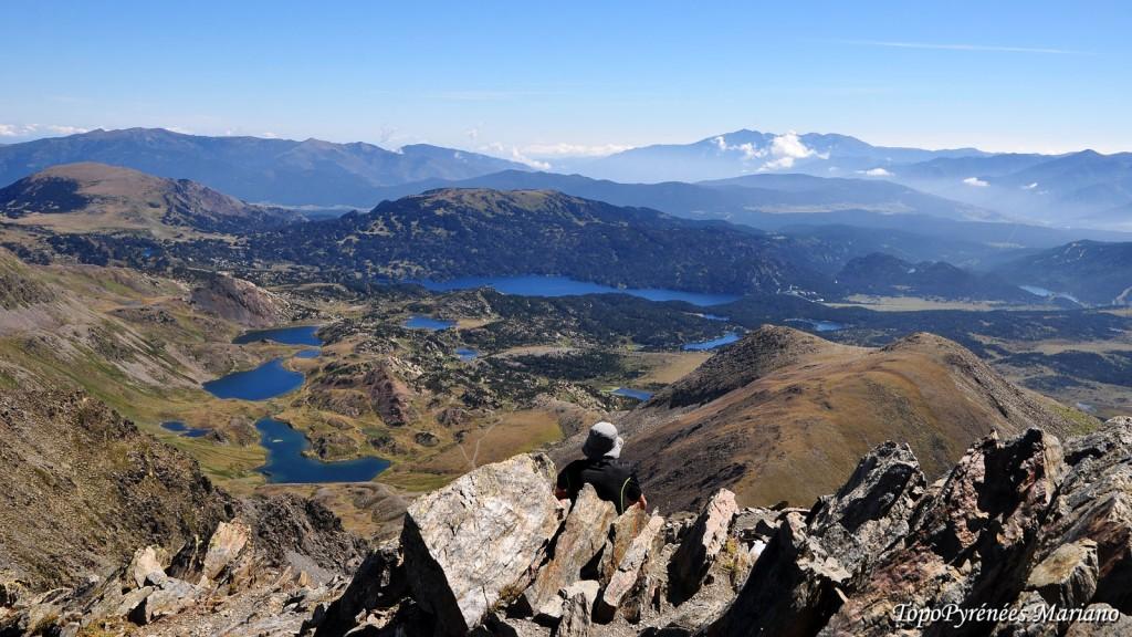 tour des lacs des Bouillouses - Pyrenees orientales