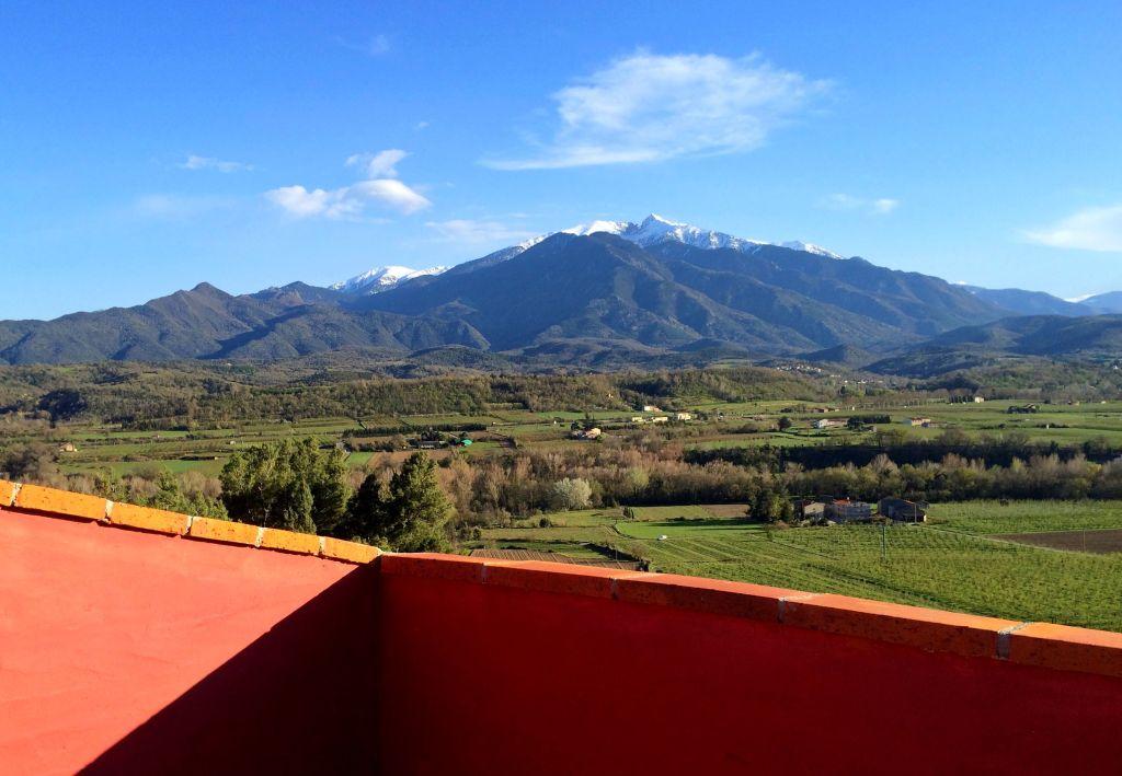 Séchoir traditionnel avec vue panoramique