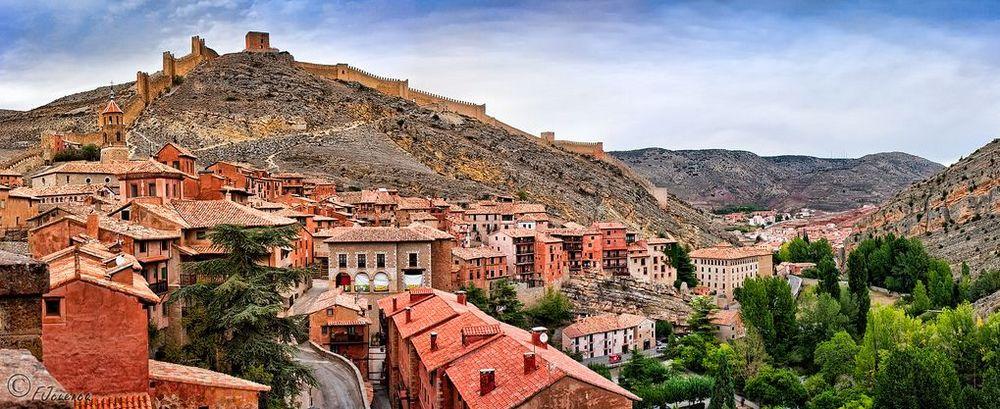 Albarracin most beautiful village of Spain europe