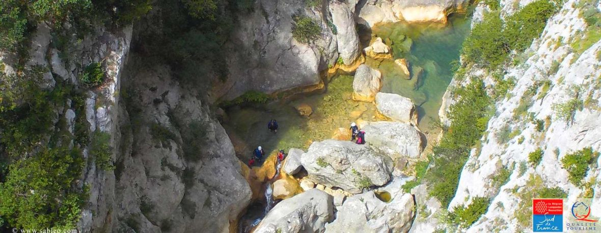 Piscines naturelles Gorges de Galamus