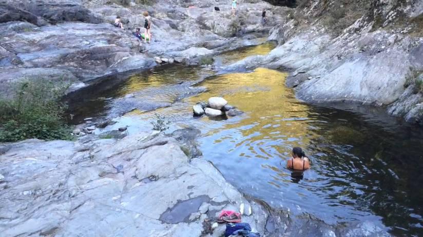 Gorges du llech - site des pierres plates - Estoher