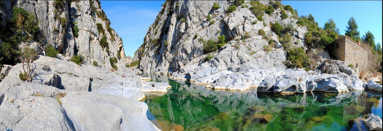baignade naturelle gorges verdouble tautavel lac gorges