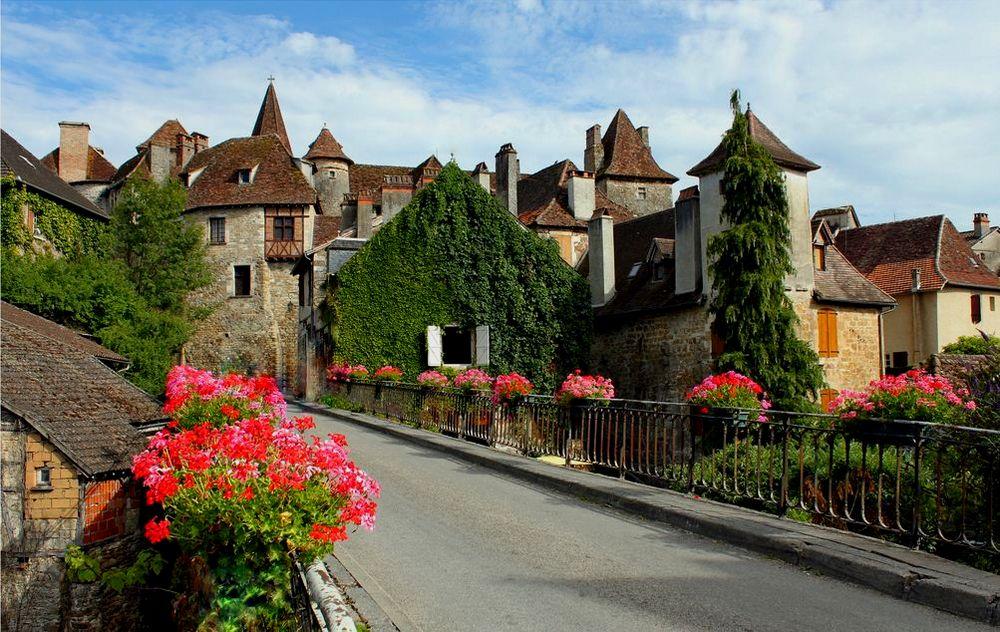 Carennac authentic village of Europe