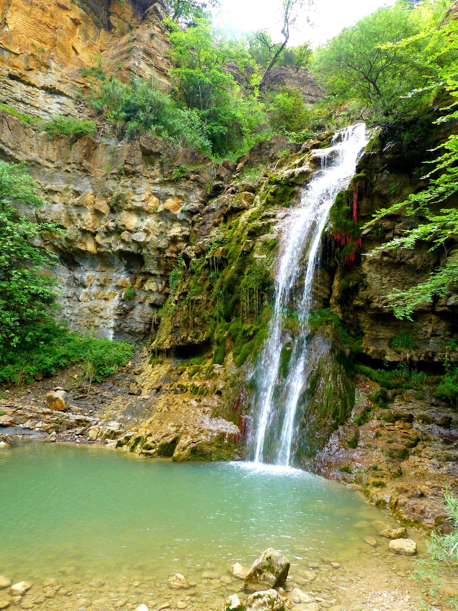 cascade mathieux bugarach baignade