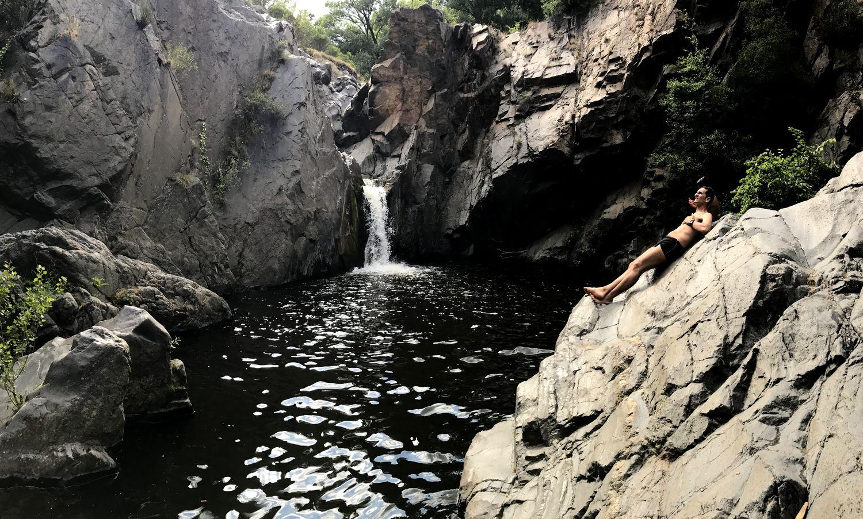 Cascade dans les Pyrénées Orientales Catllar