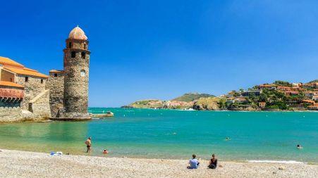 plage de Collioure - cote catalane