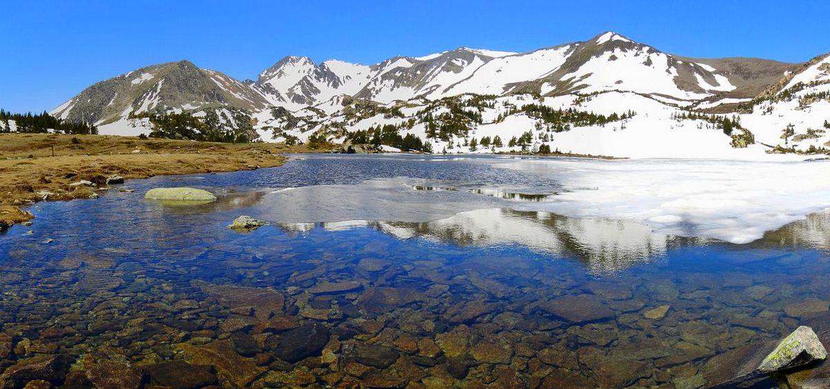 bouillouses lac climatisé lacs carlit haute montagne pays catalan