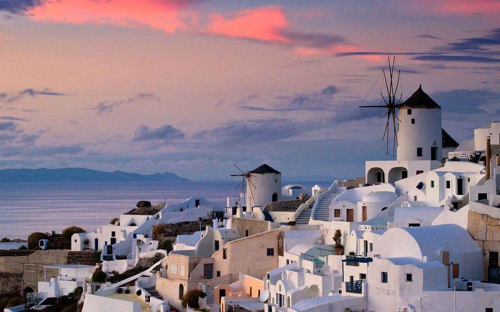 Oia santorini wonderful village of Europe