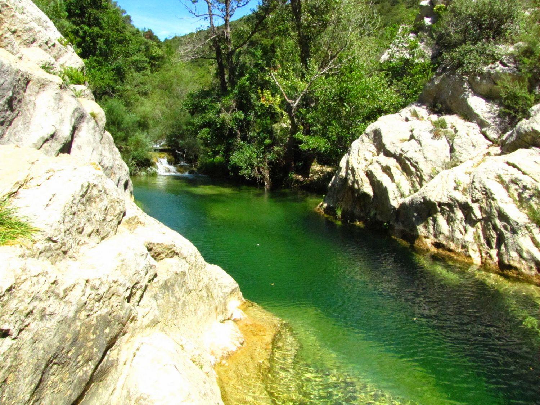 piscine naturelle corbieres sud verdouble moulin ribaute