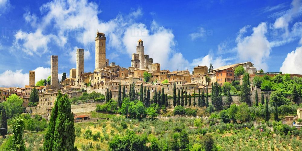 San Gimignano TOP10 villages of Italy