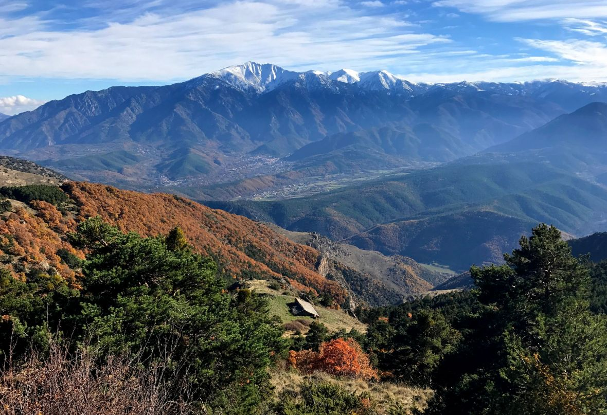 Randonnée d'automne près du Canigou