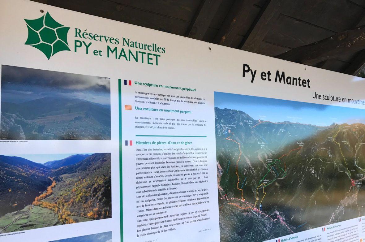 Reserve naturelle de Py Mantet