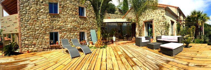 Maison d'Hôtes Charme dans les Pyrénées Orientales 66 occitanie