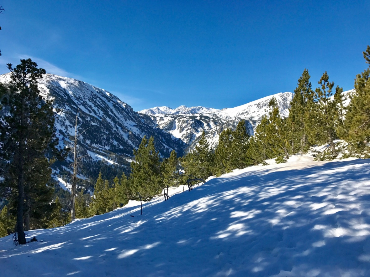 randonnée camporells hiver raquettes