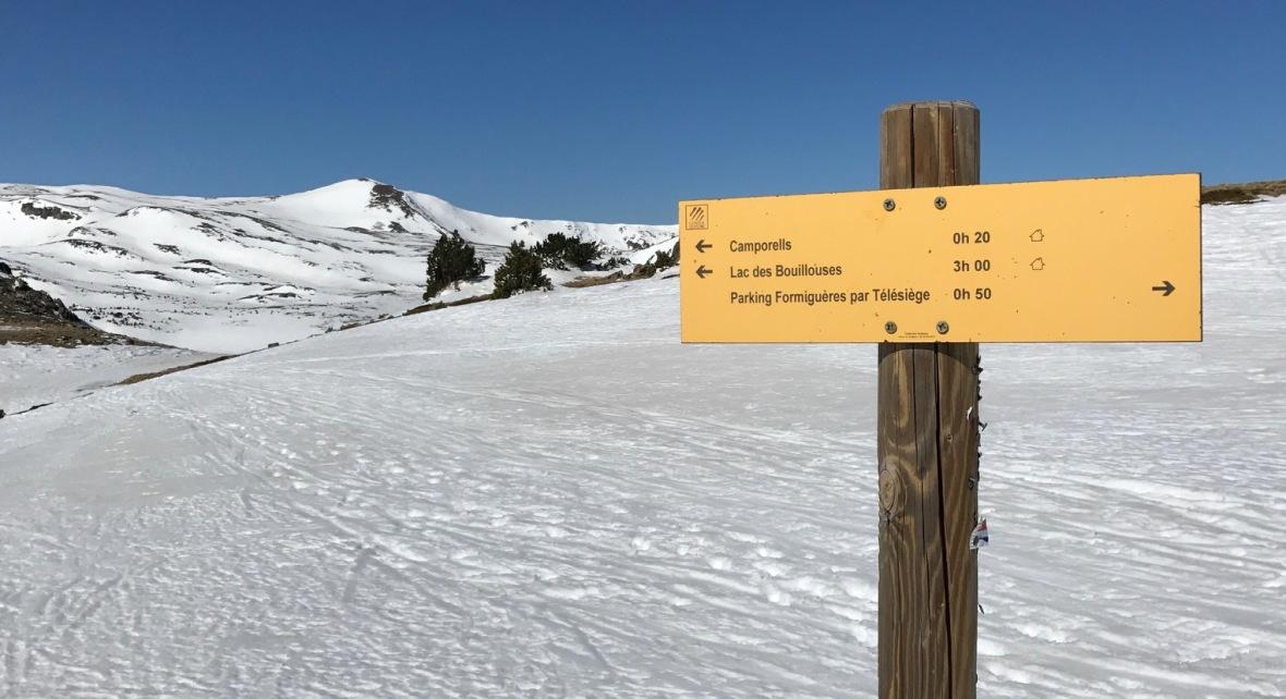 hiver randonnée raquette camporells hiver raquettes