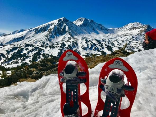 Randonnée hivernale facile Formiguères