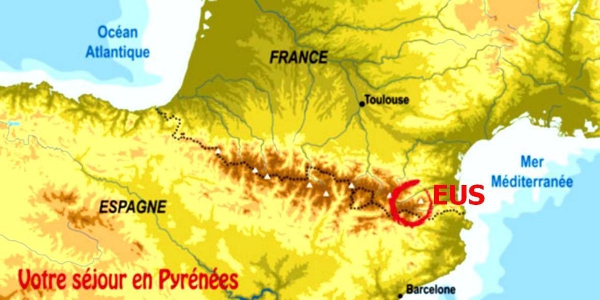 séjour au village d'Eus - Pyrénées Orientales Roussillon pas cher