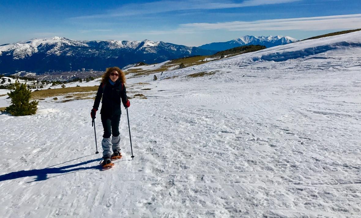 randonnée camporells hiver raquettes ski rando