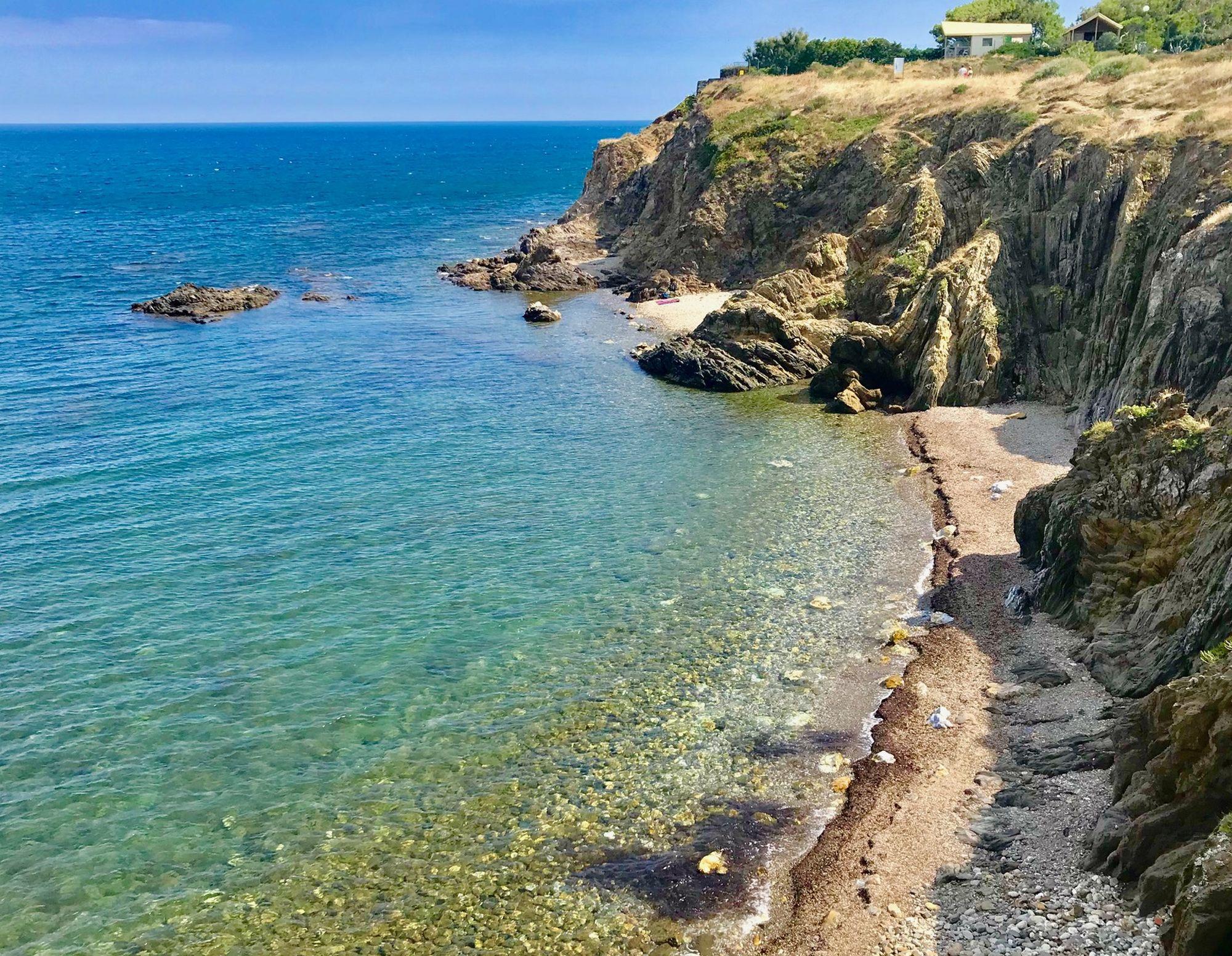 Criques cachées des Porteills - entre Argelès et Collioure