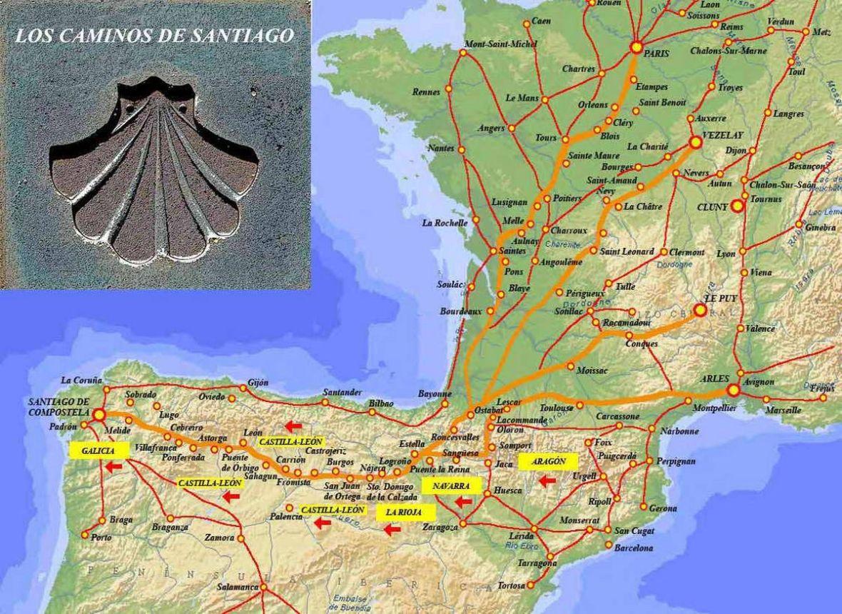 camino de santiago catalan