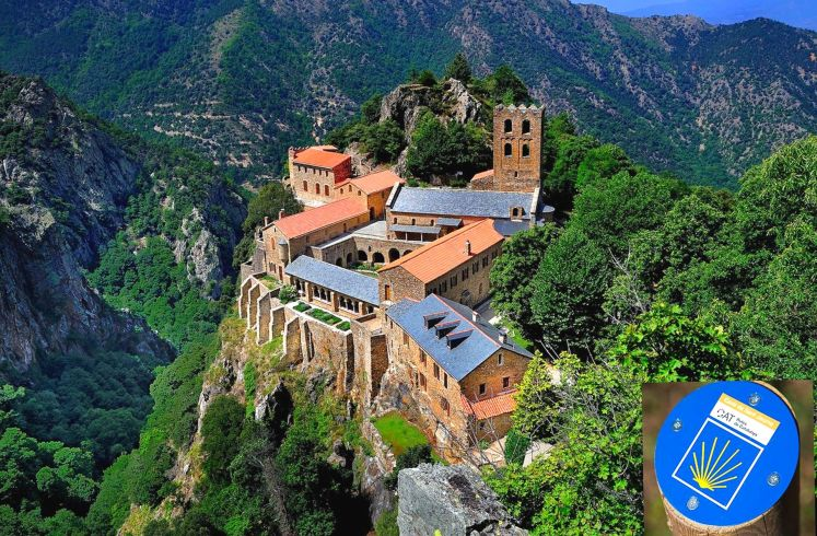 Cami real saint jacque de comostelle catalan