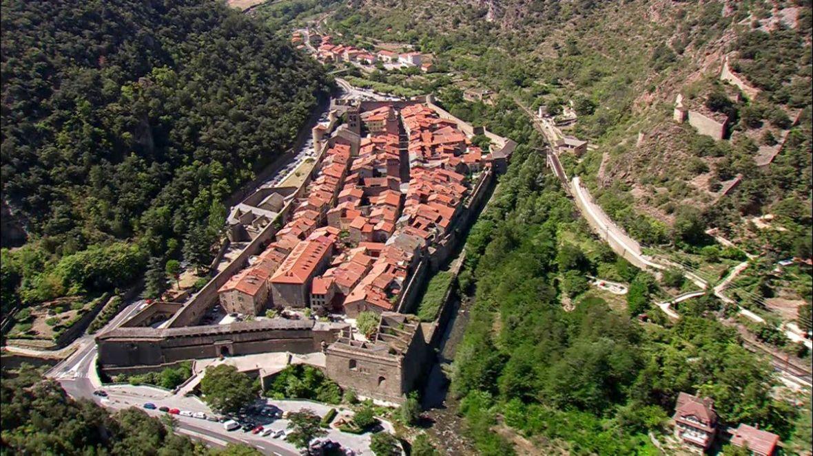 La ville fortifiée de Villefranche de Conflent Vauban