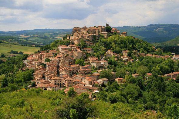 Cordes sur ciel- Occitanie - Un beau village perché du Sud France