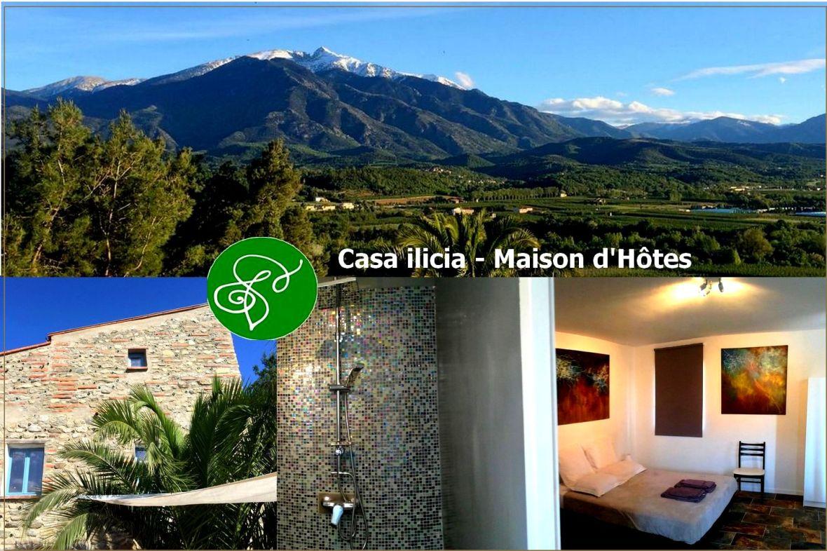 Casa ilicia Chambre Hotes Pyrenees orientales
