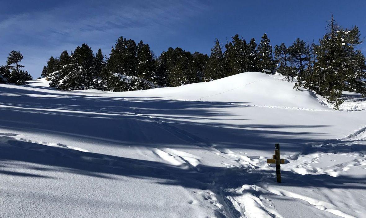 rando raquette facile pyrenees orientales