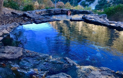 itinéraire balade randonnée bains chauds pyrenees carte localisation
