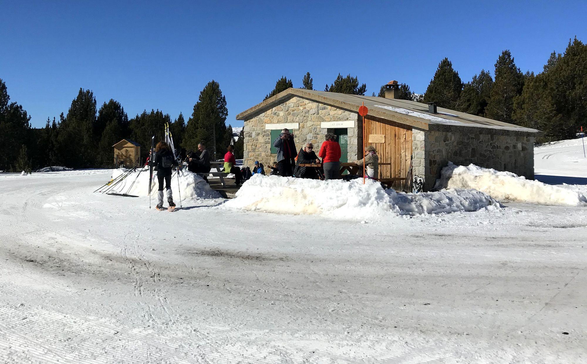 marche nordique raquette ski nordique font romeu la calma