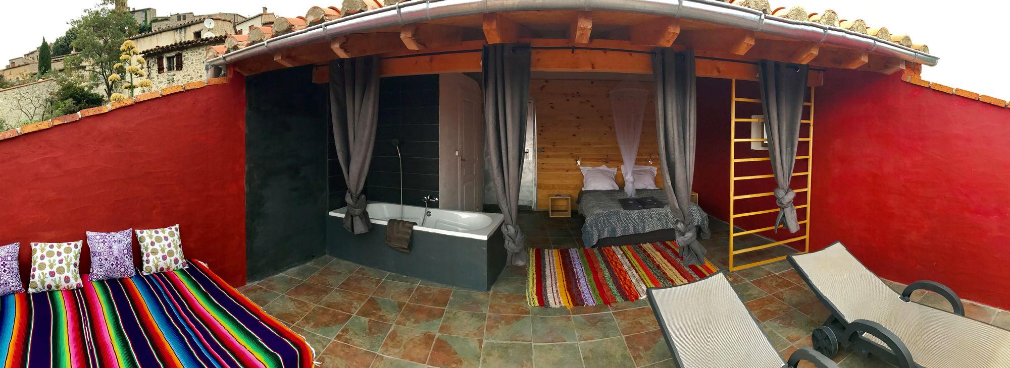 rooftop room cosy
