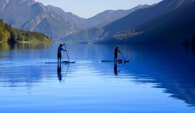 paddle lac montagne pyrenees location