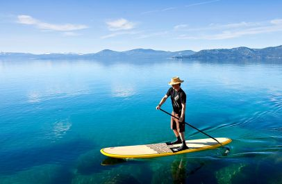 paddle pyrenees orientales lac initiation