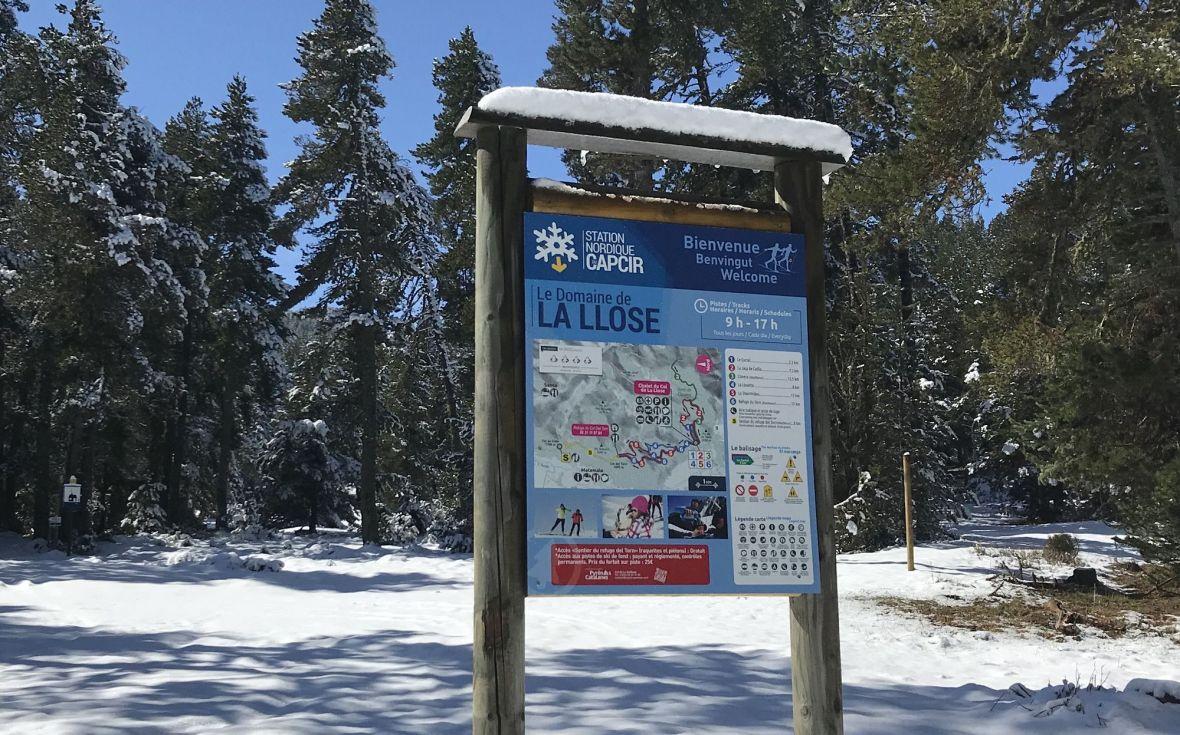 Départ randonnée Col de Creu - Estanyols raquettes