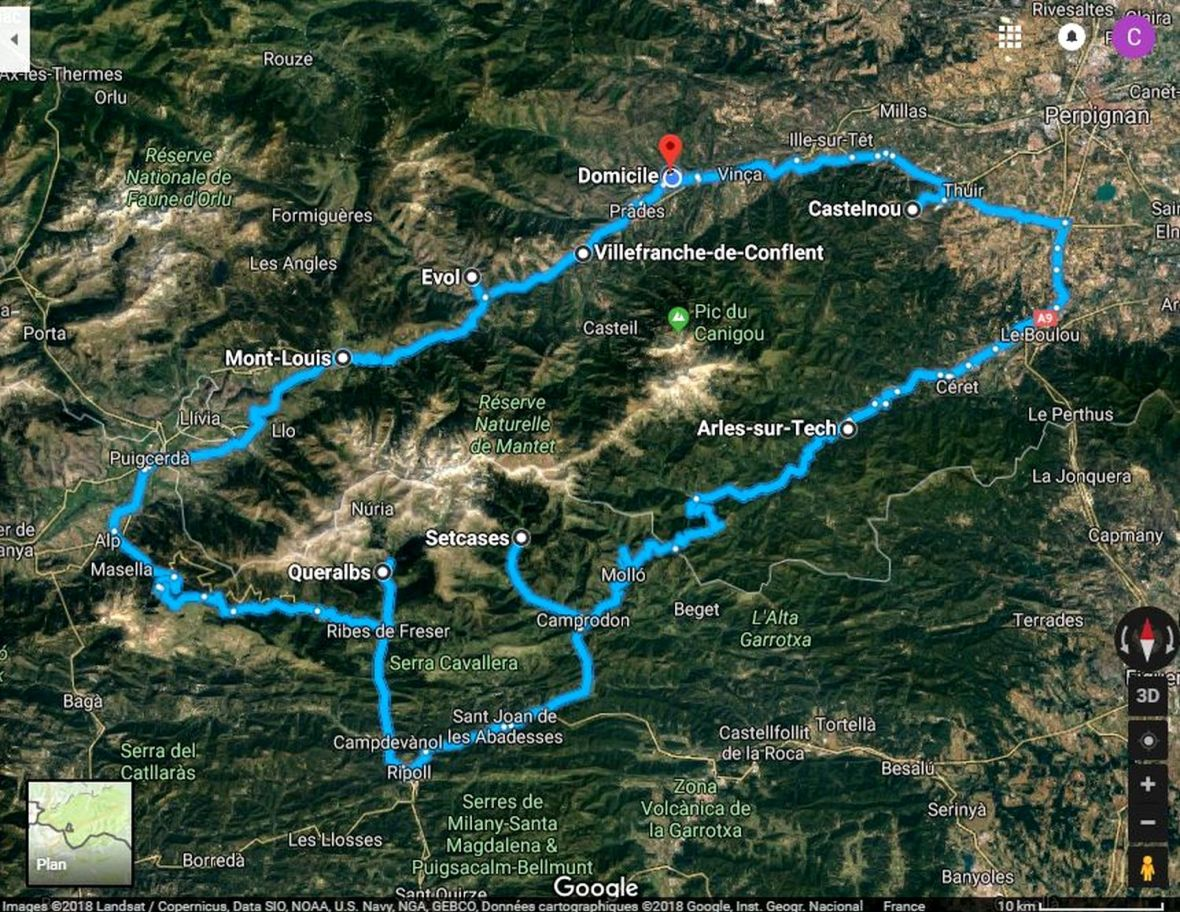 Circuit de découverte des plus beaux villages montagnards autour du Canigou