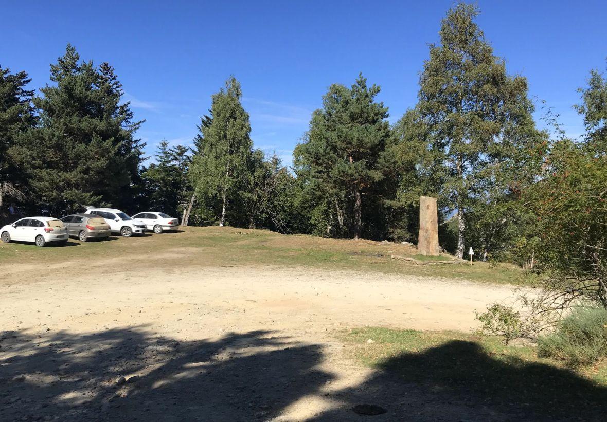 Parking Esquena Ase - piste des Cortalets - Canigou