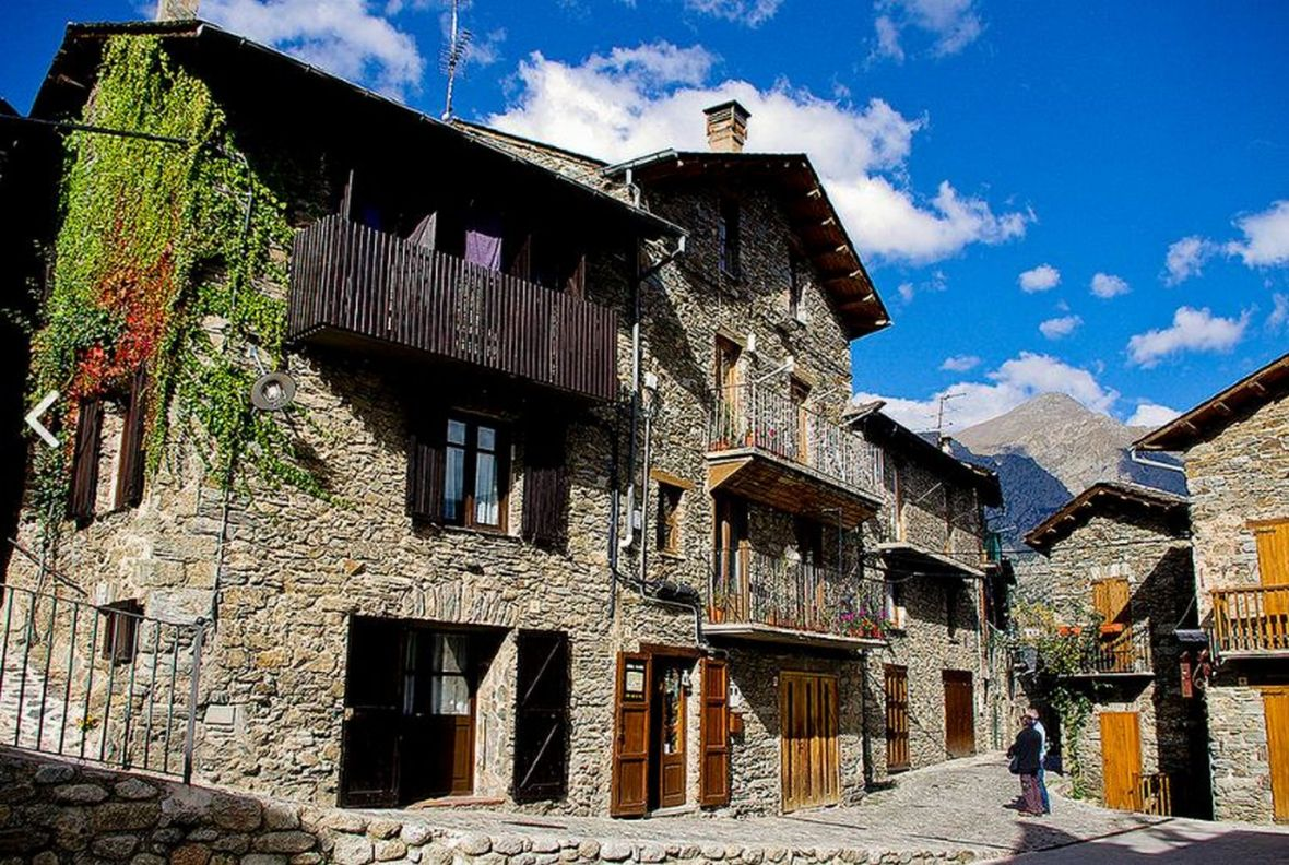 Queralbs village catalan pres de Nuria