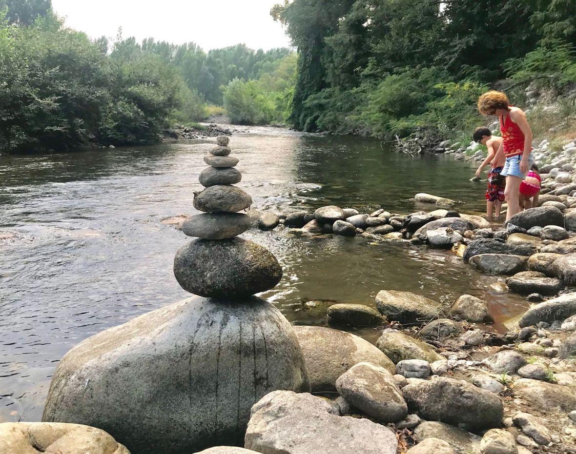 Stone Balancing - Spot de Jeux d'équilibres éphémères