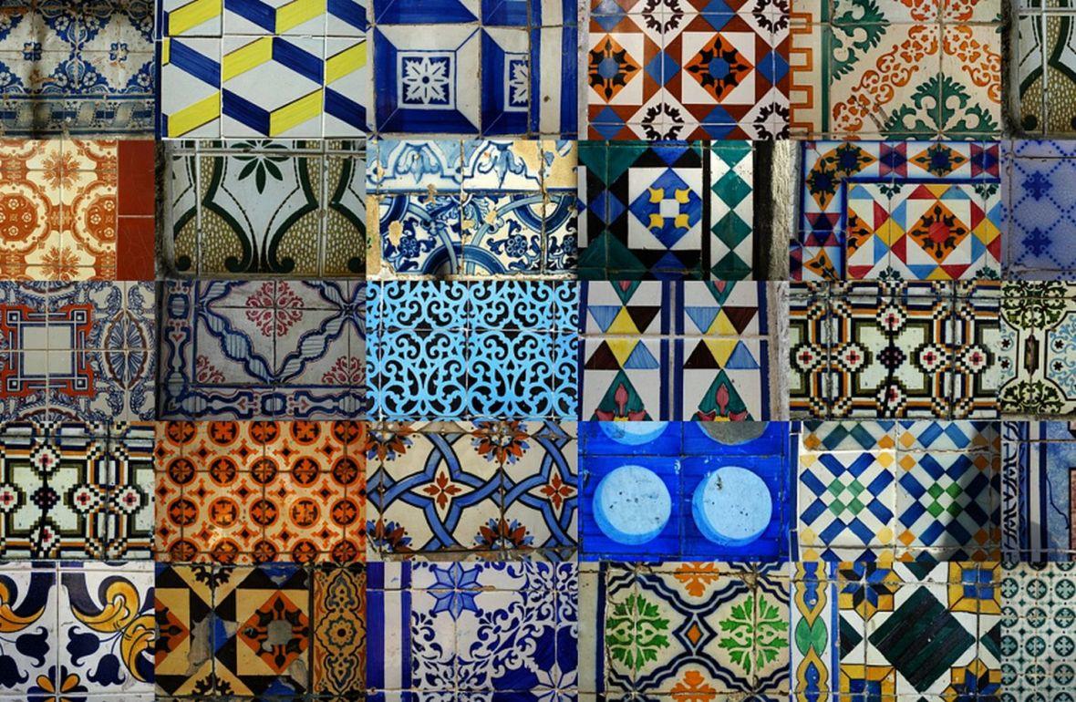 Azulejos de Lisbonne typique