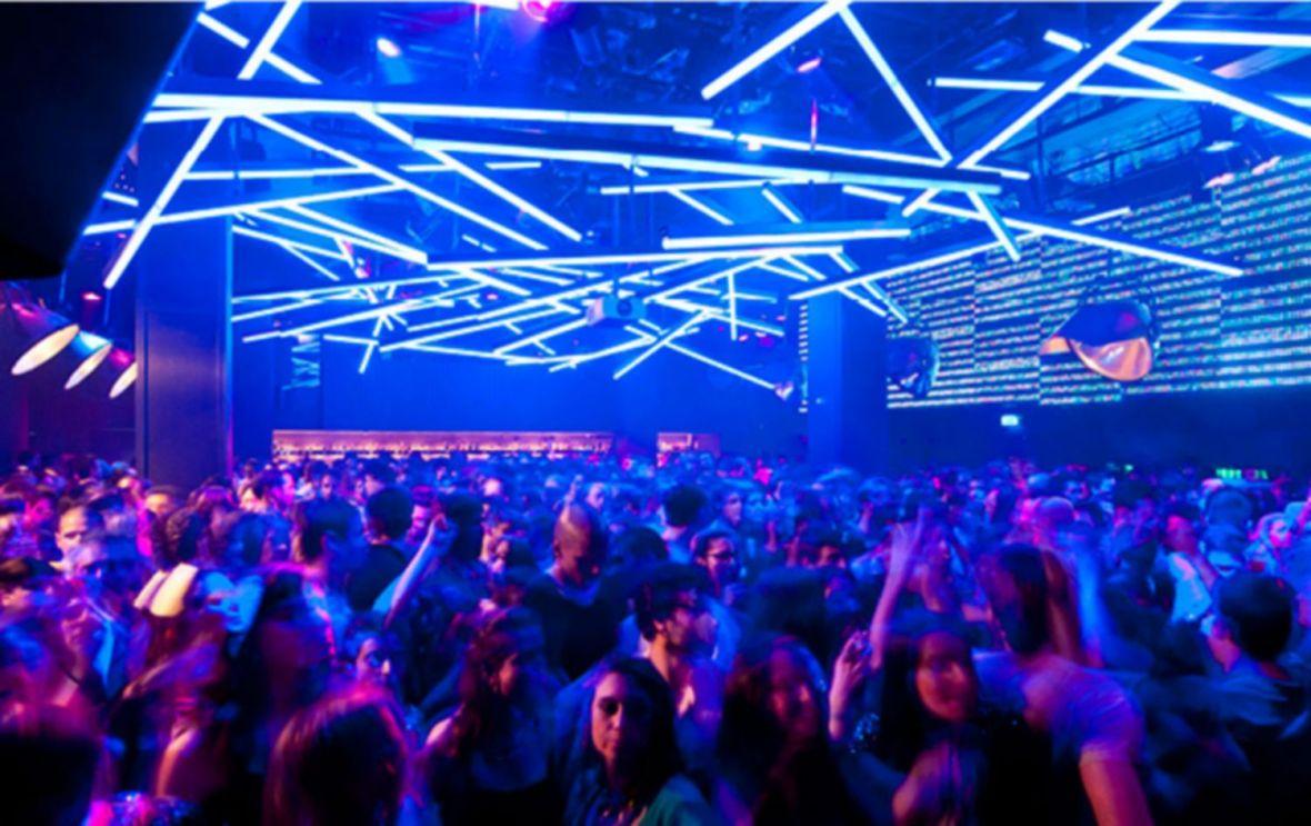 La discothèque Lux (Luxfràgil) pres de Santa apolonia à Lisbonne