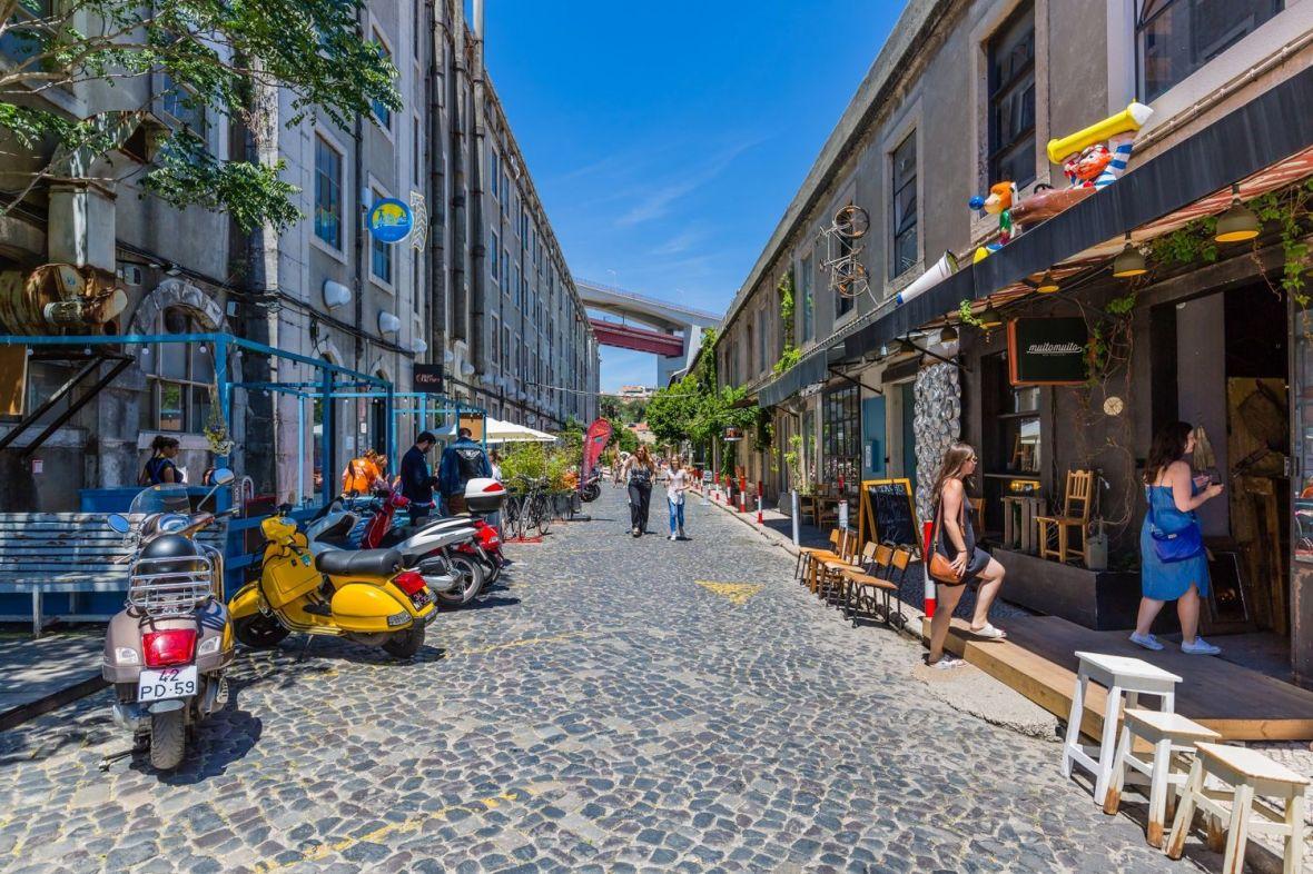 LX Factory le quartier avantgardiste de underground de Lisbonne